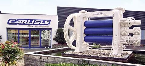 Sídlo spoločnosti Carlisle CM Europe